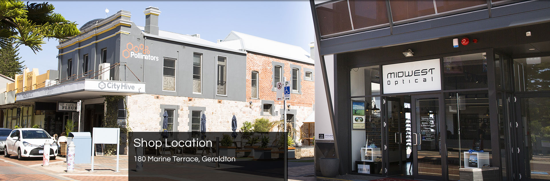 We are located at 180 Marriane Terrace in Geraldton